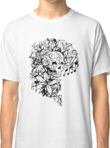 Singing Sugar Skull  Classic T-Shirt