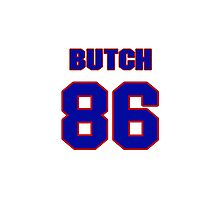 National football player Butch Wilson jersey 86 Photographic Print