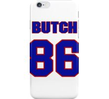 National football player Butch Wilson jersey 86 iPhone Case/Skin