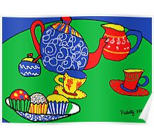 the red cup tea party Poster
