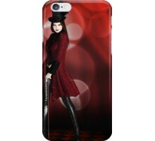 Red Vampire iPhone Case/Skin