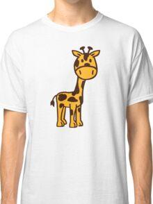 Cute comic Giraffe Classic T-Shirt