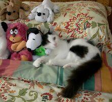Catalina among the toys by Lazarita Betancourt