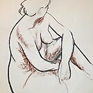 Life Drawing 1 by Rowi