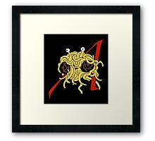 Lofty Pasta Framed Print