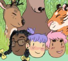 Animal Intern Sticker