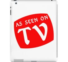 AS SEEN ON TV Funny Geek Nerd iPad Case/Skin