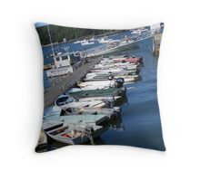 A Little Dingy Throw Pillow