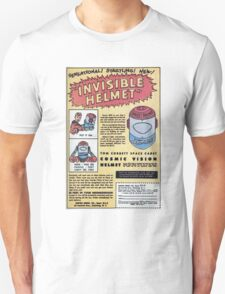 INVISIBLE HELMET T-Shirt