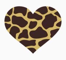 Giraffe heart Kids Clothes