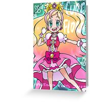 Magical Girl Collection #16 - Flora Greeting Card