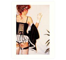 The corset Art Print