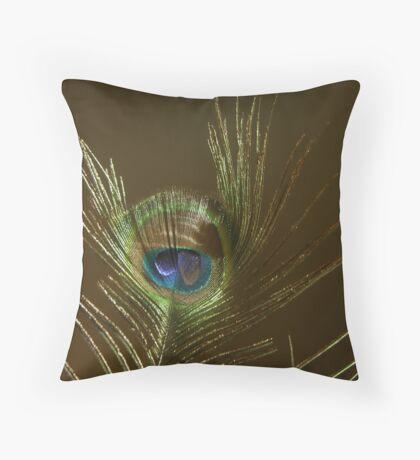 The Peacock Dude! #2 Throw Pillow