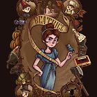 Over the Garden Wall - Beatrice by aktheneroth