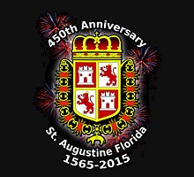 St. Augustine Florida, 450th Anniversary (Black Products Only) Unisex T-Shirt