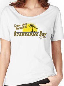 COME VISIT BEAUTIFUL GUANTANAMO BAY CUBA Funny Geek Nerd Women's Relaxed Fit T-Shirt