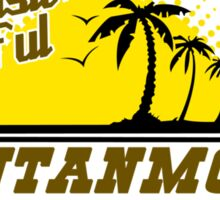COME VISIT BEAUTIFUL GUANTANAMO BAY CUBA Funny Geek Nerd Sticker