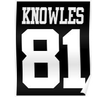 KNOWLES 81 Poster