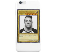 Blue-Eyes White Rapper iPhone Case/Skin