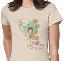 Partea with Dolly Womens Fitted T-Shirt