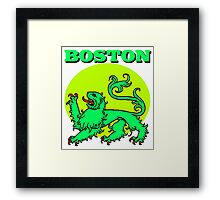 BOSTON-2 Framed Print