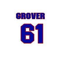 National baseball player Grover Hartley jersey 61 Photographic Print