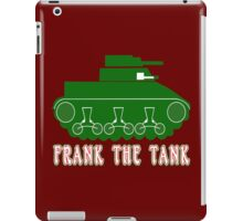 FRANK THE TANK Funny Geek Nerd iPad Case/Skin