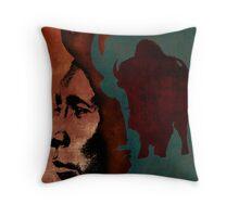 Buffalo Dream Throw Pillow