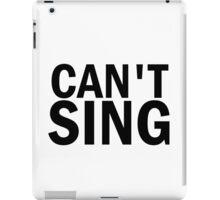 Glee: Can't Sing iPad Case/Skin