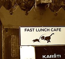 FAST LUNCH CAFE by sofficino74