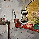 Watercolour    Solitude 3 by Irene  Burdell