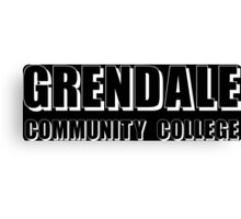 Greendale Community Funny Geek Nerd Canvas Print