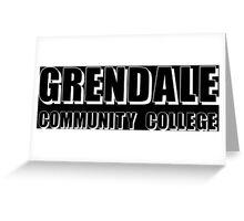 Greendale Community Funny Geek Nerd Greeting Card