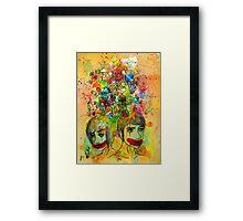 Fraternal Siamese Framed Print