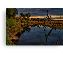 """Beside Still Waters"" Canvas Print"