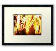 Pseudo Inferno Framed Print