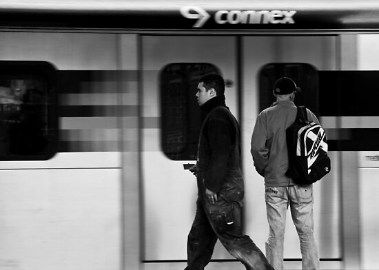 On the way.. by Caroline Gorka