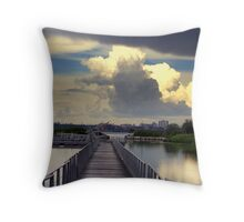 Take Me To The Other Side Throw Pillow
