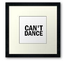 Glee: Can't Dance Framed Print