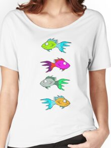 Neon Fish Women's Relaxed Fit T-Shirt