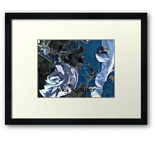 ok guess what it is ? Framed Print