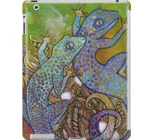 Blue Geckos iPad Case/Skin