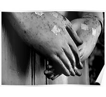 Buddha Hands Poster