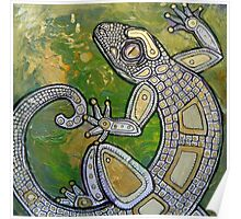 Dancing Gecko Poster