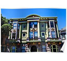 San Francisco Mansion Poster