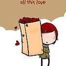 I hate Cinderella (popcorn love) by Amanda Cole