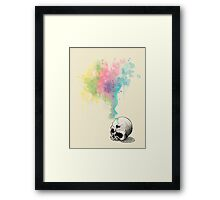 """Inmortal Fate"" Watercolor series 4/5 Framed Print"
