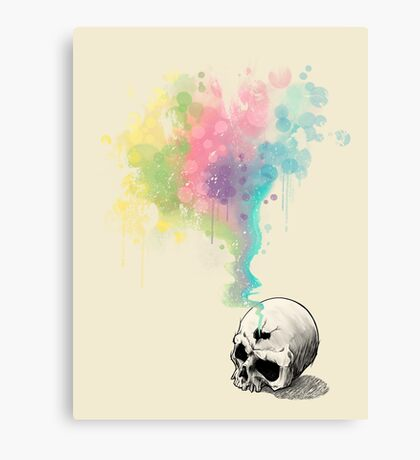 """Immortal Fate"" Watercolor series 4/5 Canvas Print"