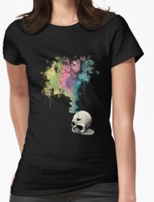 """""""Immortal Fate"""" Watercolor series 4/5 Womens Fitted T-Shirt"""
