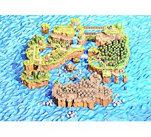 New Super Paper Mario World 3D Deluxe U Photographic Print